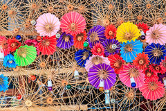 Asian style umbrella Royalty Free Stock Photography