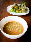 Asian style vegetable food Royalty Free Stock Photography
