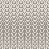 Asian style wave seamless vector pattern. Geometric repeating background Royalty Free Stock Image