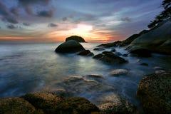 Asian sunset Stock Image