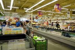 Asian Supermarket Stock Photography