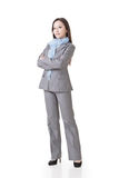 Asian supervisor woman in business. Royalty Free Stock Photos