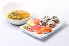 Asian sushi lunch Stock Images