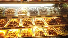 ASIAN SWEET STORE - COLLECTION stock video