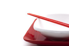 Asian table setting Stock Images