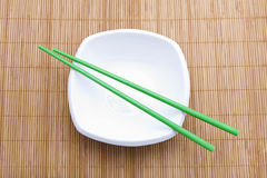 Asian table setting Stock Photos