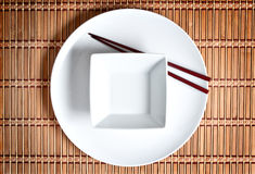 Asian table setting Stock Photography