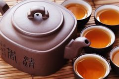 Asian tea Royalty Free Stock Photos