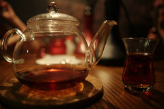 Asian tea ceremony Stock Photos
