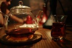 Asian tea ceremony Royalty Free Stock Photo