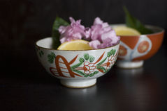 Asian tea cup Stock Images