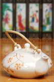 Asian Tea Pot Royalty Free Stock Image