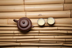 Asian tea set Stock Images