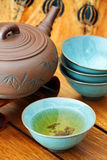 Asian tea set. Stock Image