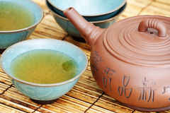 Asian tea set. Royalty Free Stock Photos