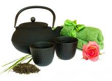 Asian tea set Stock Image