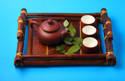 Asian tea set Stock Photo