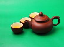 Asian tea set Royalty Free Stock Images