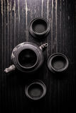 Asian tea set Stock Photography