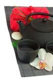 Asian tea  and spa set Stock Photography