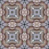 Asian Tea Stone Tile Seamless Background Pattern Royalty Free Stock Photos