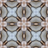 Pebble Blossom Stone Tile Seamless Background Pattern royalty free stock photo