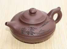 Asian teapot Royalty Free Stock Photos