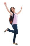 Asian teen student Royalty Free Stock Image