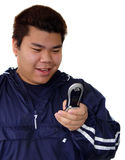 Asian teenage boy Stock Images