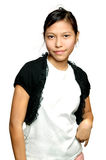 Asian teenager. Fashion Royalty Free Stock Photography