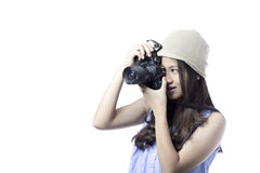 Asian teenager girl Royalty Free Stock Photography