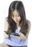 Asian teenager girl Royalty Free Stock Photo