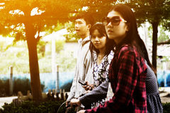 Asian teenagers Royalty Free Stock Image