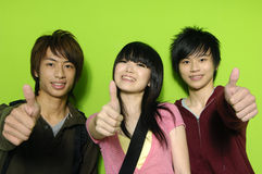 Asian teens Stock Images