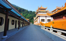 Asian temple buildings Royalty Free Stock Images