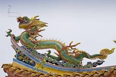 Asian temple dragon Stock Photo