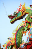Asian temple dragon Stock Image