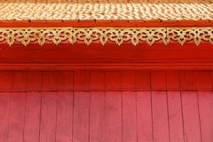 Asian temple wall Royalty Free Stock Photography