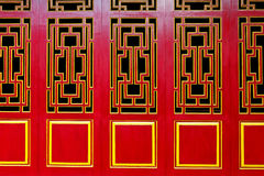 Asian Themed Doors Stock Images