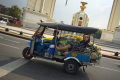 Auto rickshaw in Bangkok, Asia stock photo