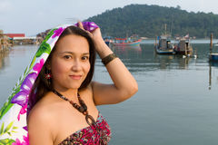 Asian tourist Royalty Free Stock Photography