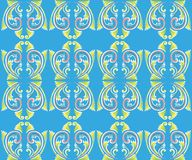 Asian tradition art pattern Royalty Free Stock Images