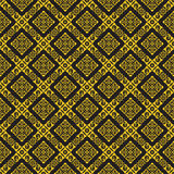 Asian traditional art Design Vector, Thai traditional design ( Lai Thai  diamond pattern background ) Royalty Free Stock Photography
