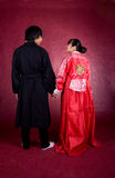 Asian traditional couple Stock Image