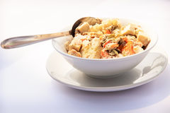 Asian traditional food on table Royalty Free Stock Photography