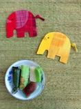 Asian traditional snacks stock photo