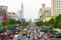 Asian traffic Royalty Free Stock Images