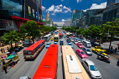 Asian traffic Royalty Free Stock Photos