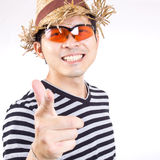 Asian Traveller concept Royalty Free Stock Photography