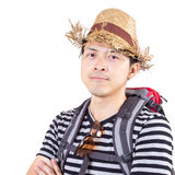 Asian Traveller concept Royalty Free Stock Images